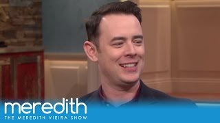 the best advice tom hanks gave his son colin the meredith vieira show