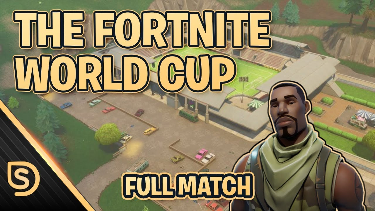 Full Match of Fortnite World Cup (sponsored by reddit)