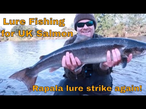 Lure Fishing For Salmon On The Border Esk. Best Rapala Lure For Salmon?