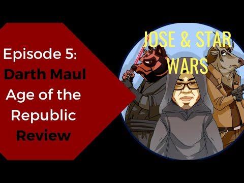 Star Wars Comics Age Of The Republic Darth Maul Comic Review