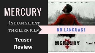 Mercury Movie Teaser Hindi Review   Prabhu Deva   By Upcoming South Hindi Dub Movies