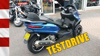 Test Riding a Piaggio MP3 500LT