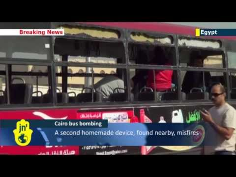 Bus Bomb Rocks Cairo: Several injured after homemade explosive device detonates in Egypt