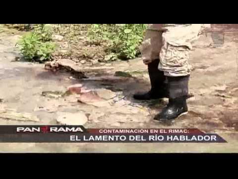 Contaminación en el Rímac: el lamento del río hablador