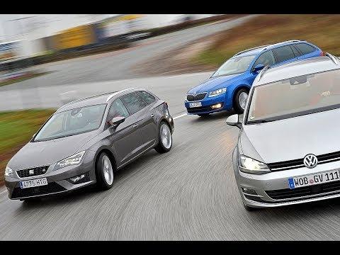 Seat Leon ST Vs. Skoda Octavia Combi Vs. VW Golf Variant