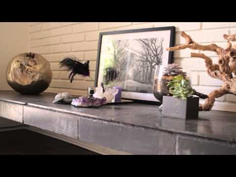 How to Decorate a Living Room With Natural Outdoor Motifs : Interior Design & Decor