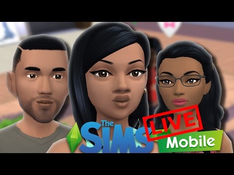 Let's Play The Sims Mobile Gameplay Live - Lets Find Ella Love!