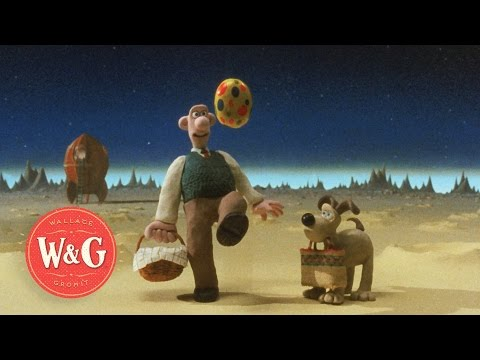 A Grand Day Out - Landing on the Moon - Wallace and Gromit thumbnail