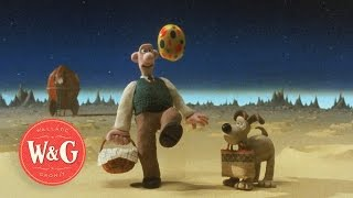 A Grand Day Out - Landing on the Moon - Wallace and Gromit