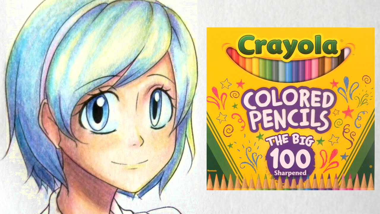 How to Color with Crayola Colored Pencils Part One: Skin