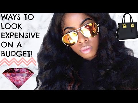 HOW TO LOOK EXPENSIVE & BOUGIE ON A BUDGET! (FASHION HACKS)