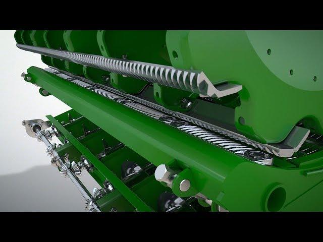 John Deere – Upp till 10 procent högre kapacitet i korn med slagskolist