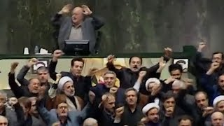 Iranian MPs chant 'death to America' in parliament