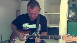 Guitar Blues Rock in Gm - Cover Solo Joe Bonamassa - I'll Play The Blues For You