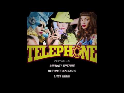 Telephone - Britney Spears feat Lady Gaga and Beyoncé [Mash up]