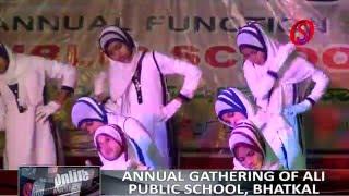 """Students perform """"Karle Jo Karna Hai Aakhir Maut Hai"""" song at APS  annual gathering"""