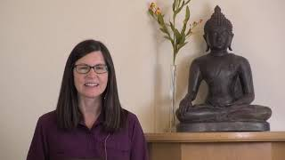 Guided Meditation with Diana Clark: The Stability Within;  Dharma Talk: Difficulties