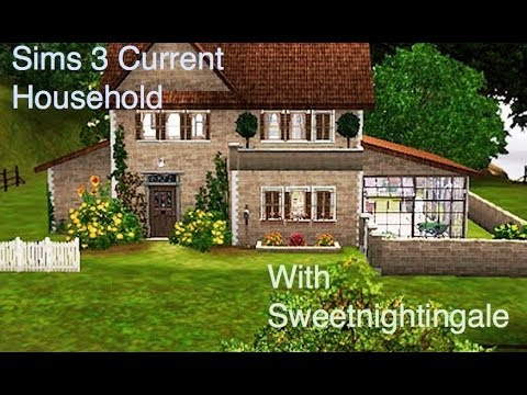 My Current Sims 3 Household for February 2018, The Kramer Family
