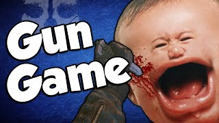 BEST OF GUN GAME REACTIONS! (Call of Duty: Ghosts Montage)