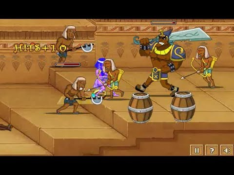Egyptian Tale Flash Adventure Game