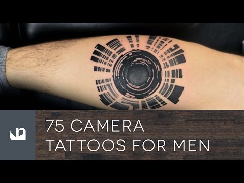 75 Camera Tattoos For Men - Photography Ink