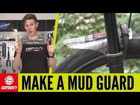 How To Make A Mudguard For Your Mountain Bike | MTB Maintenance
