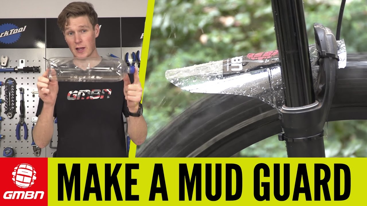 How To Make A Mudguard For Your Mountain Bike Mtb Maintenance