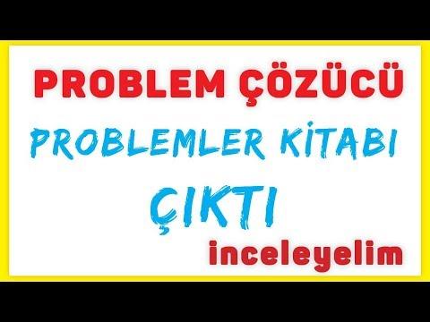 çözümlü Problem Kitabımız çıktı Inceleyelim - Problem çözücü Şenol Hoca Matematik