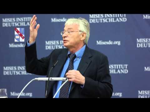 """""""Recht und Wirtschaft"""" - Prof. Dr. Hans-Hermann Hoppe (Ludwig von Mises Seminar 2015)"""