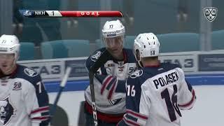 Первый гол Руохомаа в КХЛ