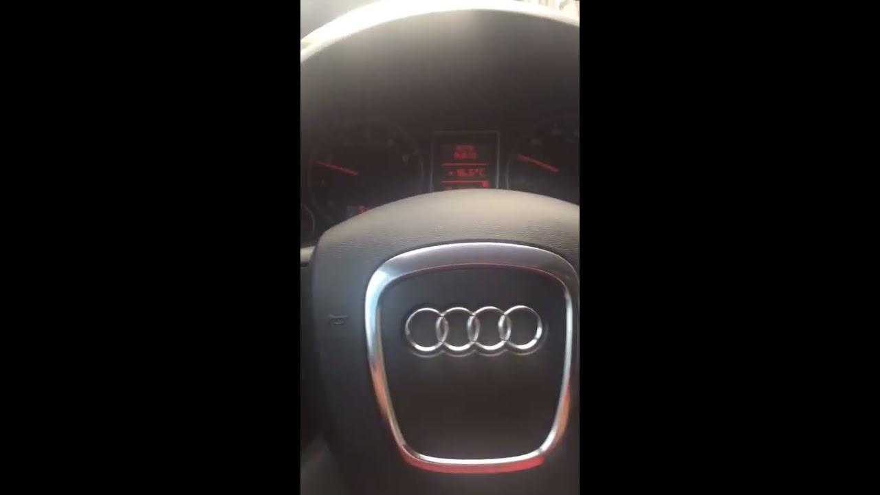 Epc Light Audi >> Audi A4 2007 2.0T B7 CEL EPC light after Repair - YouTube