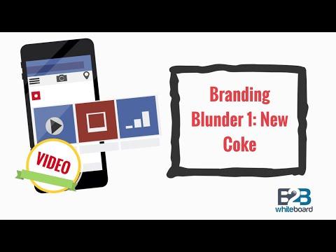 Branding Blunder 1: New Coke
