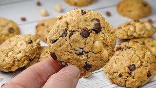 Cookies aux noisettes et chocolat fait en 10 min !