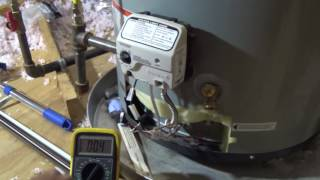 Bad Water Heater? Troubleshoot the honeywell gas valve and the thermostat