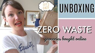 UNBOXING: 3 ZERO WASTE ONLINE GROCERY SHOPS | Kate Arnell