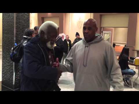Virgil and Sweet Daddy Siki wrestling event