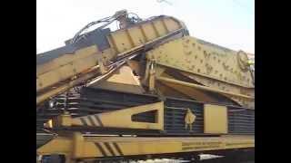 Супер тяжелая техника (Щебнеочисная машина РЕМ) Средний ремонт железнодорожного пути(Жестокая работа монтеров пути ************************************ Такие машины применяются для ремонта ж/д пути Супер тяже..., 2015-12-02T10:16:18.000Z)