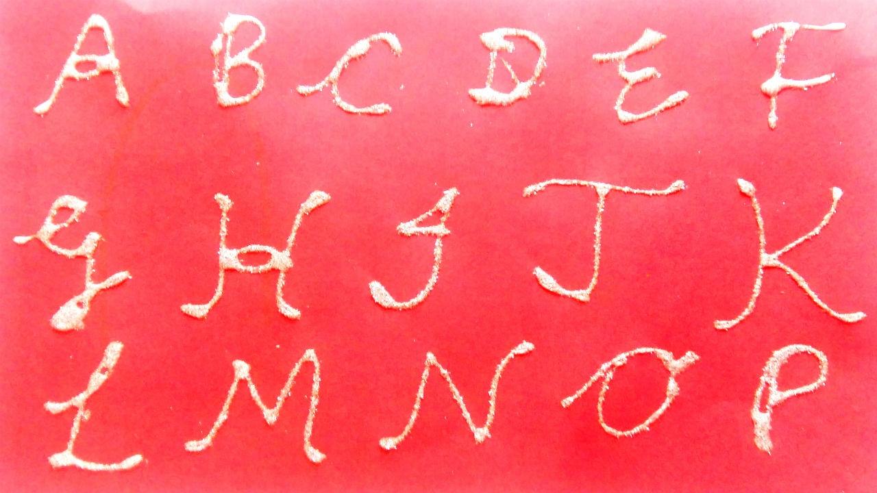 Cursive Writing For Kids Cursive Capital Letters Cursive