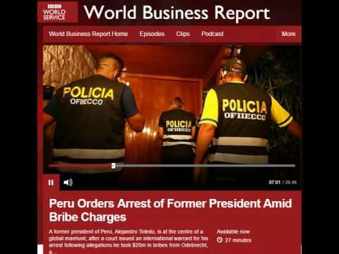 BBC World Business Report on Odebrecht by Geovanny Vicente Romero