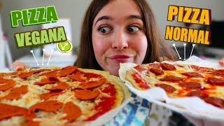 PIZZA VEGANA VS PIZZA NORMAL