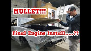 Mullet El Camino Build Episode 3! Installing the Engine, but Issues Arise!!