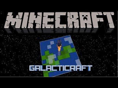 Minecraft Mod Showcase: Galacticraft 3! - YouTube