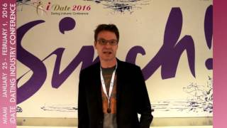 Christian Jensen CEO of Sinch On SMS & Instant Messaging For Mobile Dating Apps iDate Miami 2016(At the 43rd International iDate Dating Industry Conference, Christian Jensen, CEO and Chief Evangelist of Sinch will provide his insights on