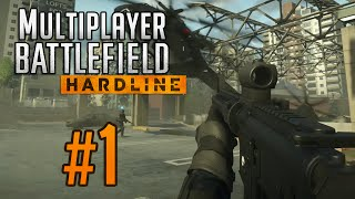 """RUN OVER"" Battlefield Hardline - Multiplayer Gameplay (Part 1)"