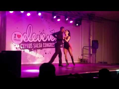 11th Cyprus Salsa Congress - Johann Orsinet (FR) & Barbara Georgiou (CY)