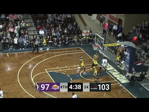 Yante Maten (31 Points) Highlights Vs. South Bay Lakers