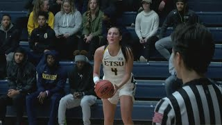 Carley Lytton drops career-high 19 points in ETSU win over North Carolina A&T