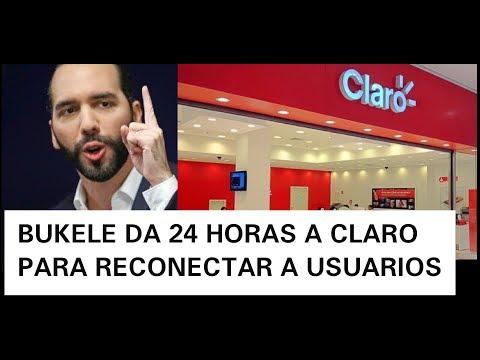 NAYIB PONE QUIETO A CLARO Y LE ORDENA NO DESCONECTAR INTERNET AL PUEBLO