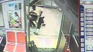 Mental Patient Attacks Guy with a Hammer.