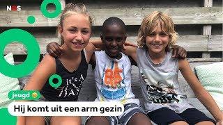 Morcire (10) op vakantie bij Nederlands gezin